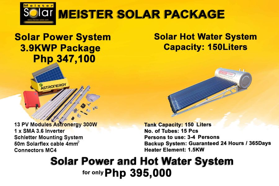 solar power and hotwater system 2019