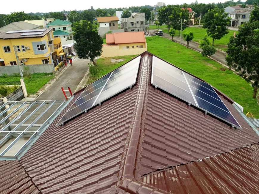 Dau, Mabalacat, Pampanga - Meister Solar